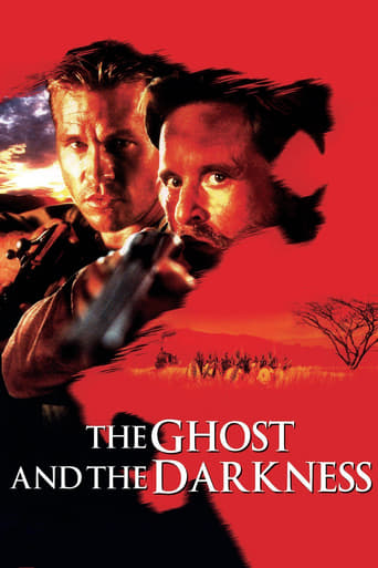 Poster of The Ghost and the Darkness