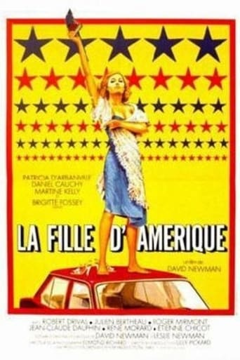 Poster of The Crazy American Girl