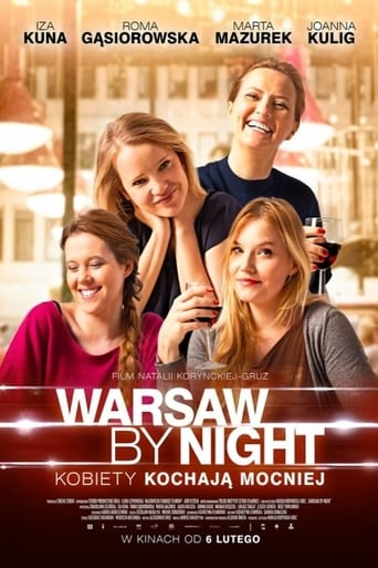 Poster of Warsaw by Night