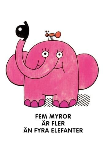 Poster of Fem myror är fler än fyra elefanter