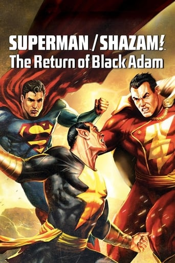 Poster of Superman/Shazam!: The Return of Black Adam