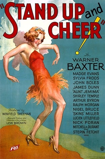 Poster of Stand Up and Cheer!
