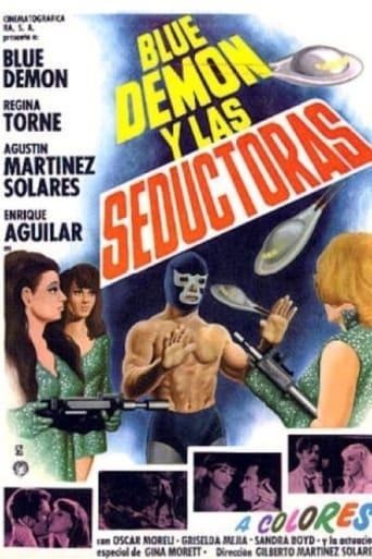 Poster of Blue Demon y las invasoras