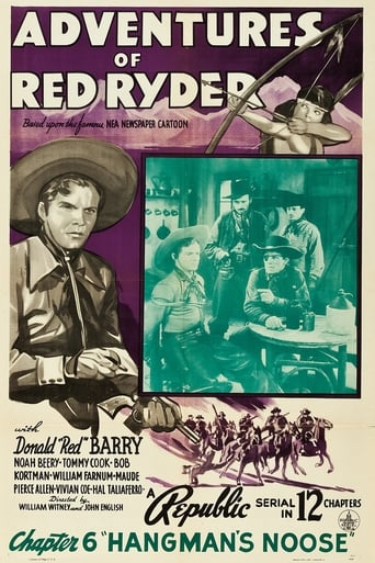 Poster of Adventures of Red Ryder