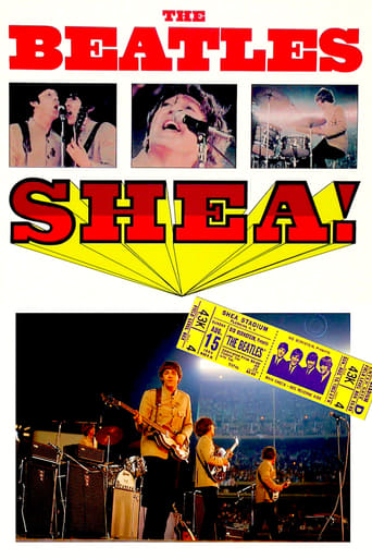 The Beatles at Shea Stadium poster