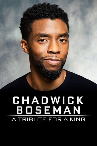 Poster of Chadwick Boseman:  A Tribute for a King