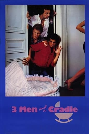 Poster of Three Men and a Cradle