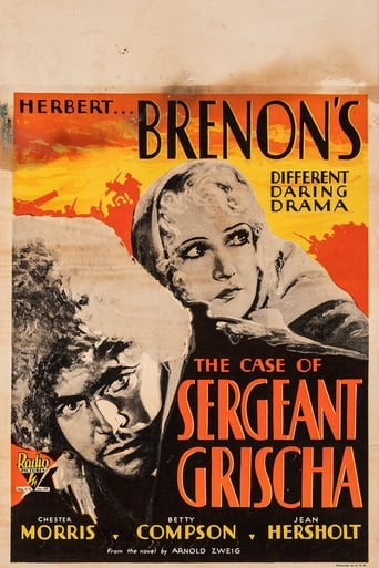 Poster of The Case of Sergeant Grischa