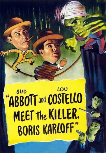 Poster of Abbott and Costello Meet the Killer, Boris Karloff
