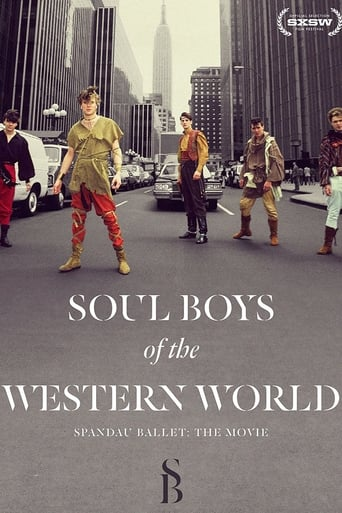 Poster of Soul Boys of the Western World