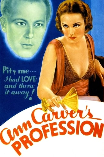 Poster of Ann Carver's Profession