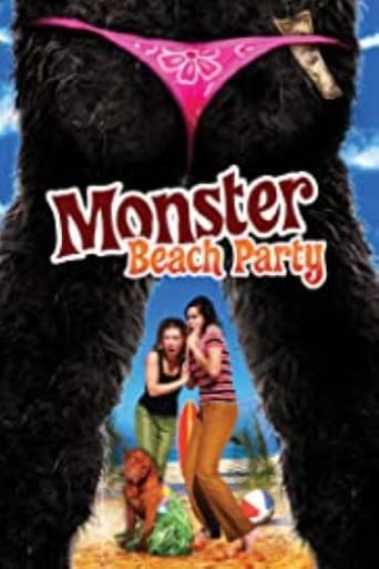 Poster of Monster Beach Party