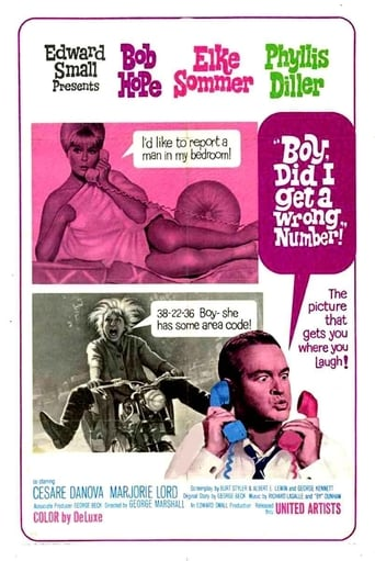 Poster of Boy, Did I Get a Wrong Number!
