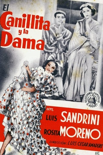 Poster of El canillita y la dama