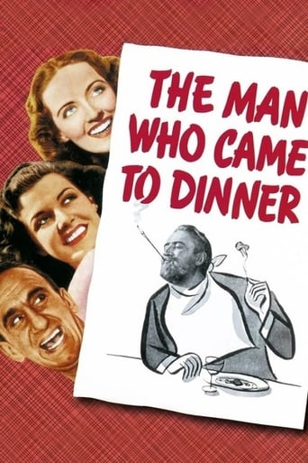 Poster of The Man Who Came to Dinner