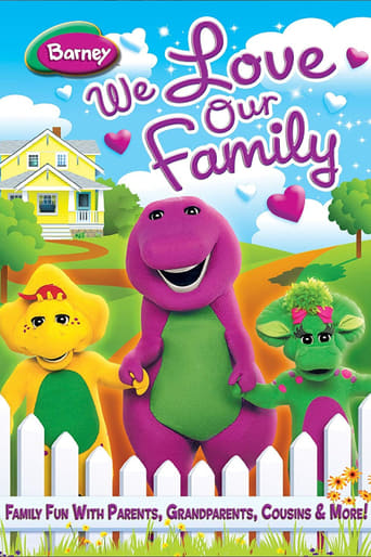 Poster of Barney: We Love Our Family