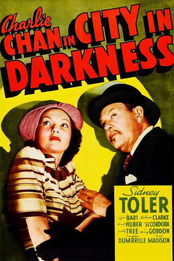 Poster of City in Darkness