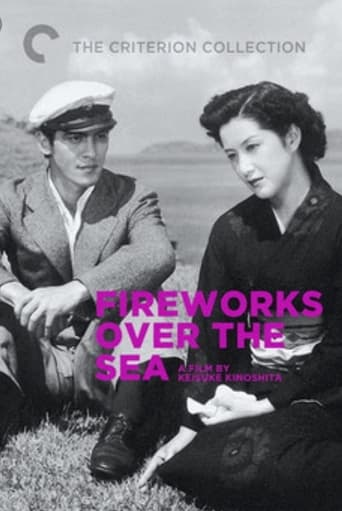 Poster of Fireworks Over the Sea