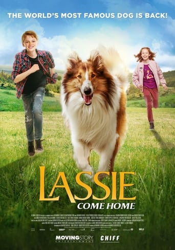 Poster of Lassie Comes Home