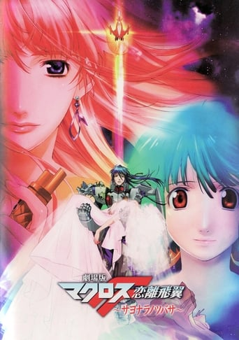 Poster of Macross Frontier: The Wings of Goodbye