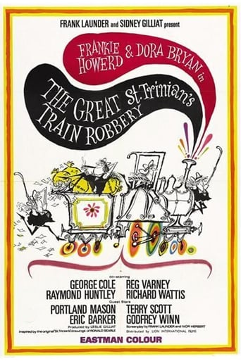 Poster of The Great St. Trinian's Train Robbery