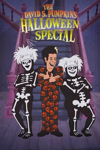 The David S. Pumpkins Halloween Special poster