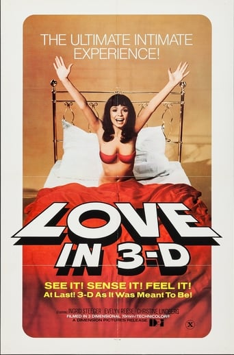 Poster of Love in 3-D