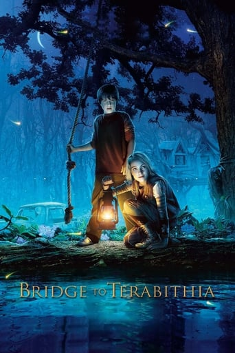 Poster of Bridge to Terabithia