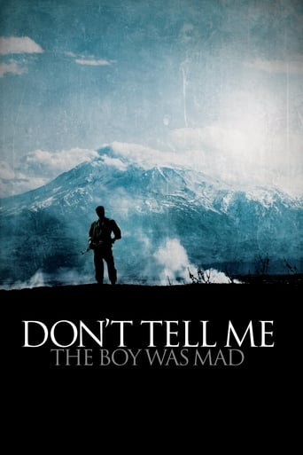Poster of Don't Tell Me the Boy Was Mad