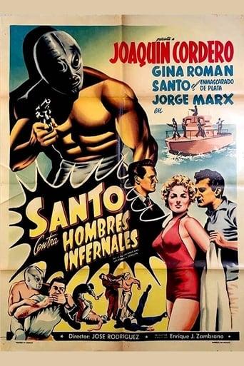 Poster of Santo vs. the Infernal Men