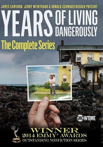 Poster of Years of Living Dangerously