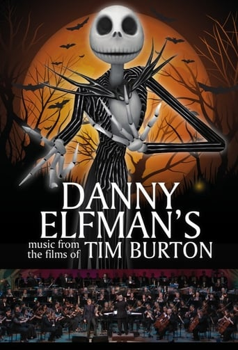 Poster of Live From Lincoln Center: Danny Elfman's Music from the Films of Tim Burton