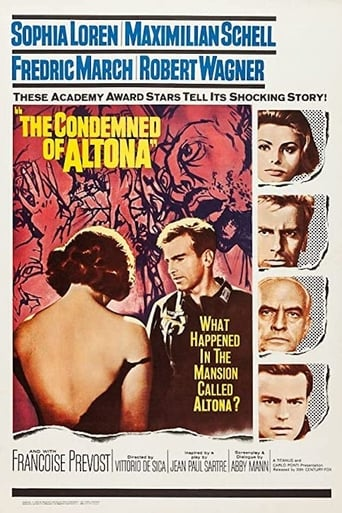 Poster of The Condemned of Altona