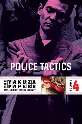 Poster of Battles Without Honor and Humanity: Police Tactics