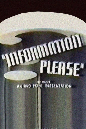 Poster of Information Please: Series 1, No. 1