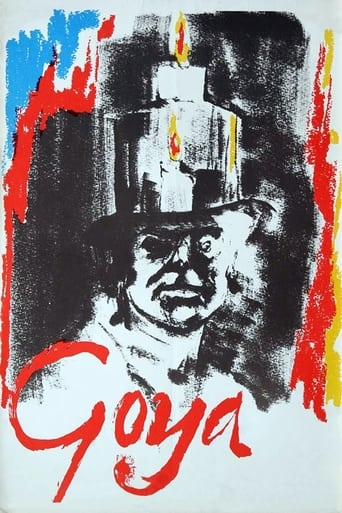 Poster of Goya: Or the Hard Way to Enlightenment