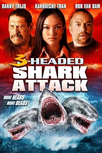 Poster of 3-Headed Shark Attack