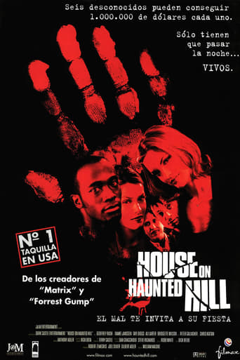 Poster of House on Haunted Hill