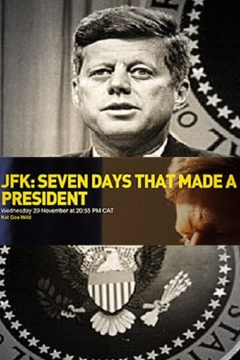 Poster of JFK: Seven Days That Made a President