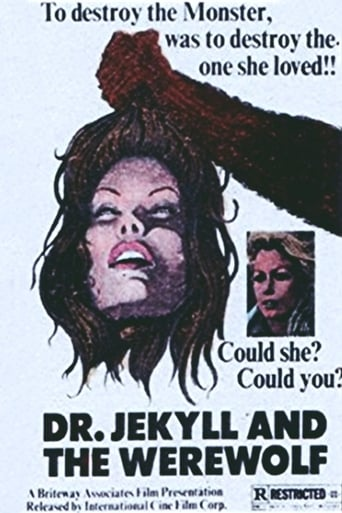 Poster of Dr. Jekyll vs. the Werewolf