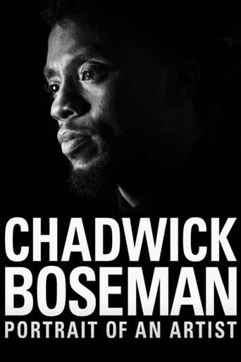Poster of Chadwick Boseman: Portrait of an Artist