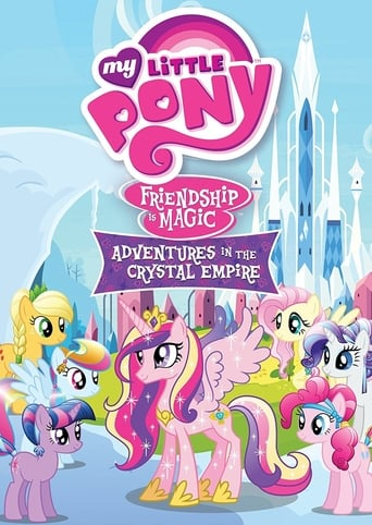 My Little Pony Friendship Is Magic: Adventures In The Crystal Empire poster