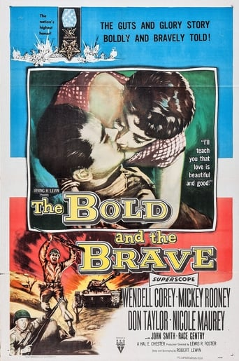 Poster of The Bold and the Brave