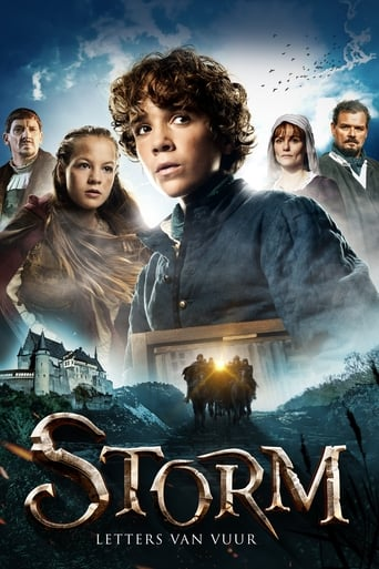 Poster of Storm - Letter of Fire
