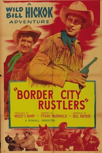 Poster of Border City Rustlers