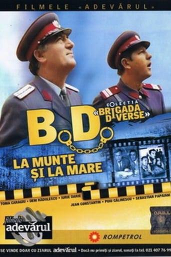 Poster of B.D. la munte și la mare