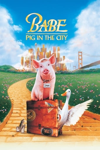 Poster of Babe: Pig in the City