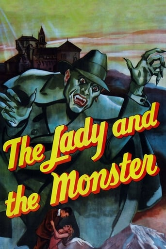 Poster of The Lady and the Monster