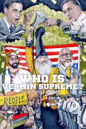 Poster of Who Is Vermin Supreme? An Outsider Odyssey