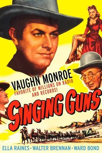 Poster of Singing Guns